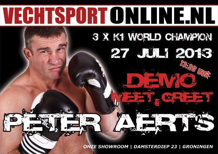 Peter Aerts 27 juli bij Vechtsportonline